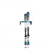 Držák lyží s montáží na stěnu CliQ